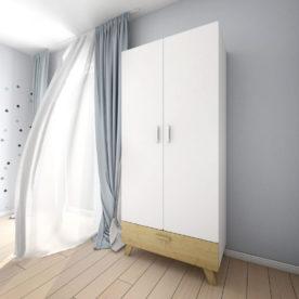 dulap alb camere copii