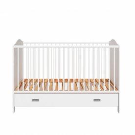 patut bebe lemn alb