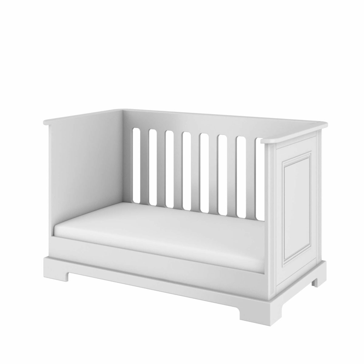 patut de bebe alb